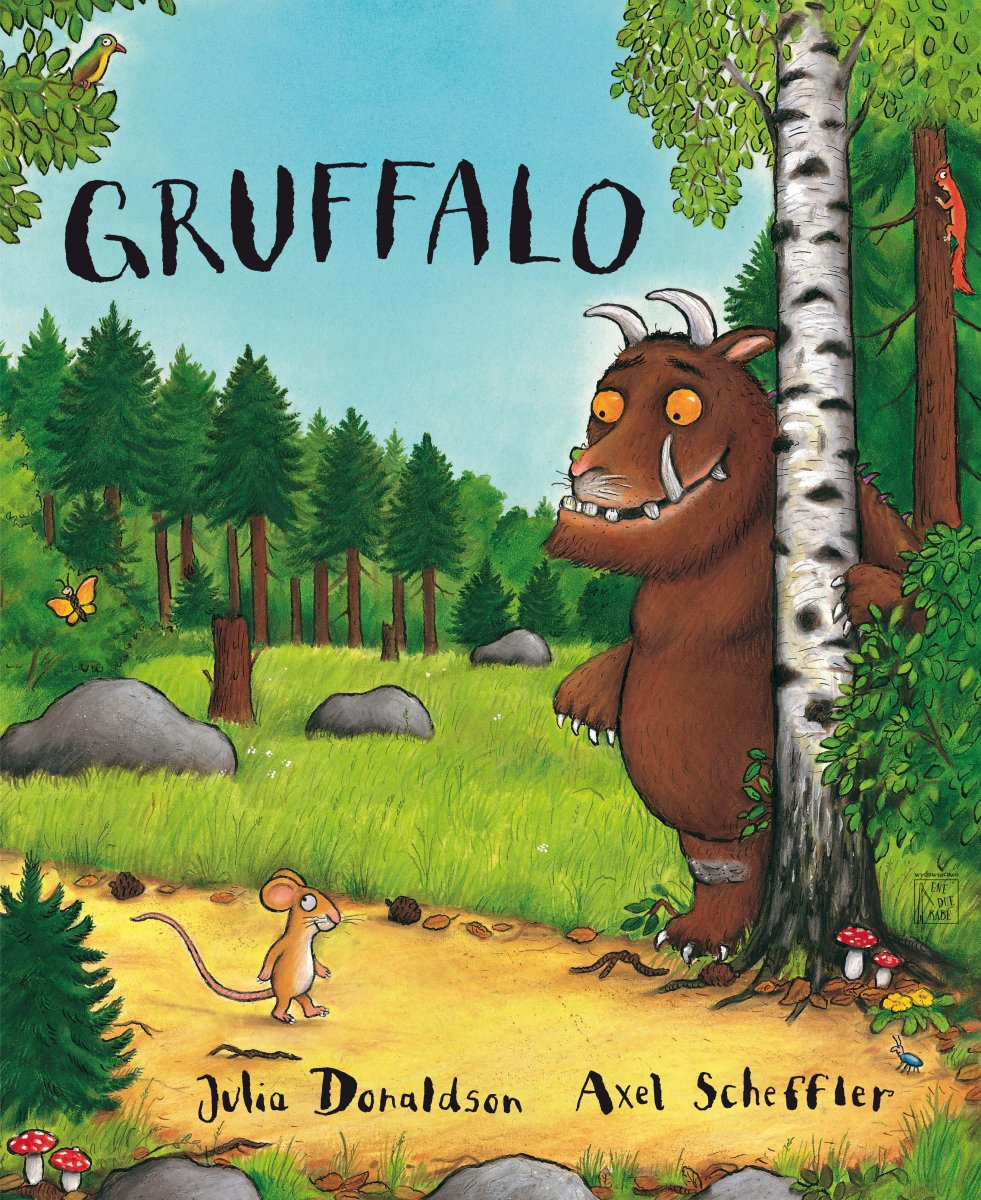 Gruffalo Book Cover