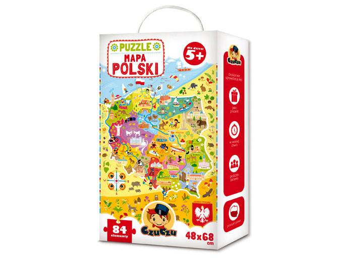 Puzzle mapa Polski Czuczu
