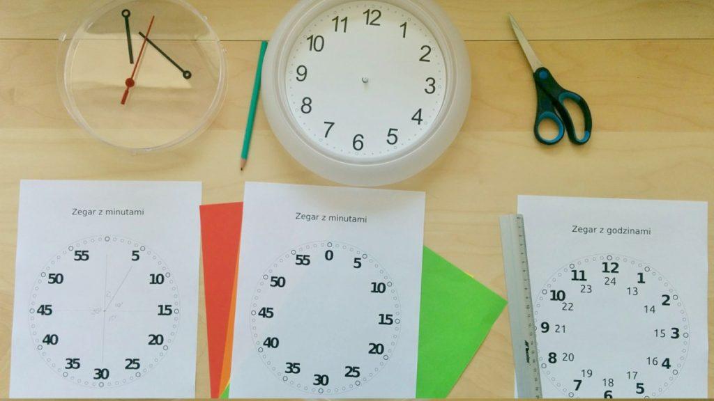 Zegary dla dzieci - work in progress