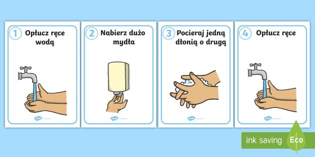Mycie rąk dla dzieci - Jak myć ręce?