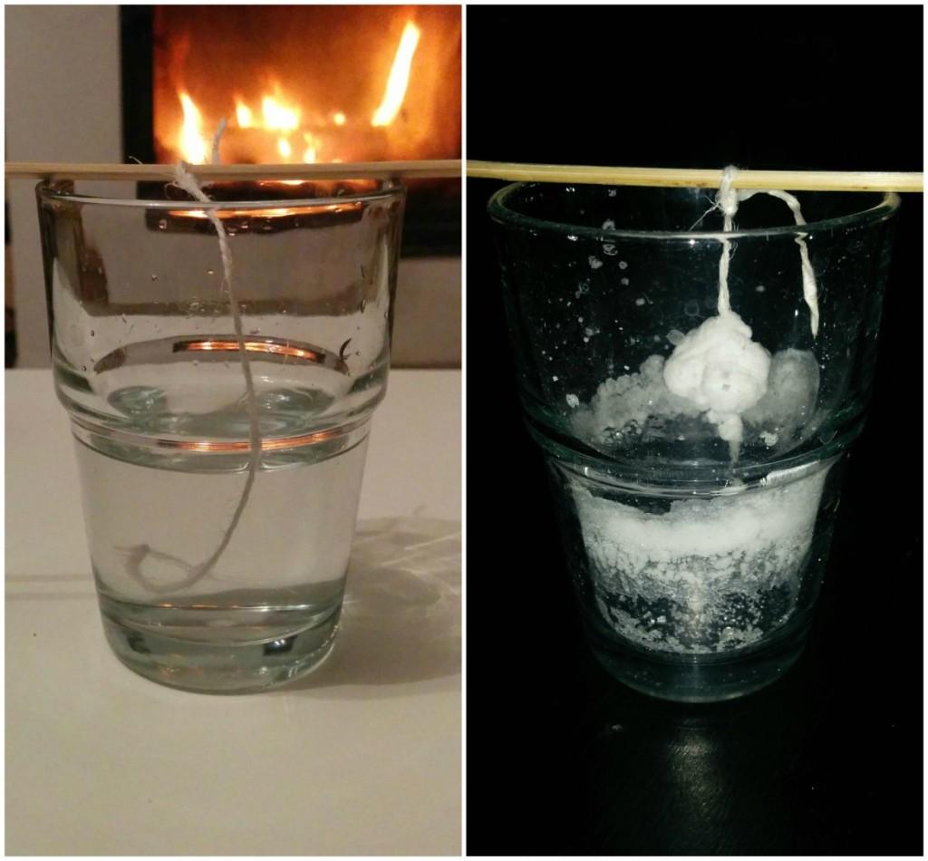 Eksperyment z wodą i solą