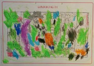 Pomysły na zabawy do książki Gruffalo kolorowanka w Ali wydaniu