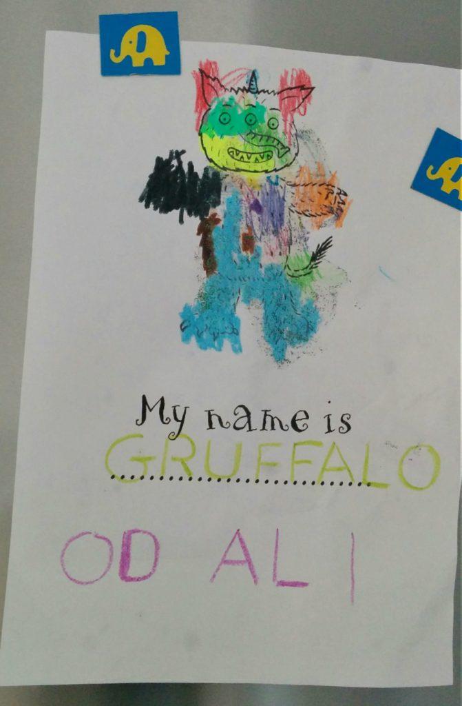 Pomysły na zabawy do książki Gruffalo stwórz własnego potwora