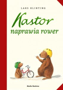 """Kastor naprawia rower"""