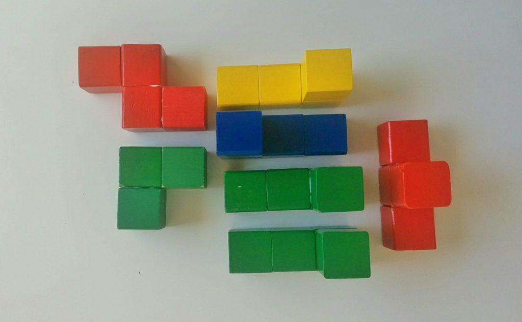 Drewniana kostka układanka logiczna - Krok 3